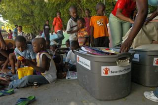 Child Friendly Space: Save the Children