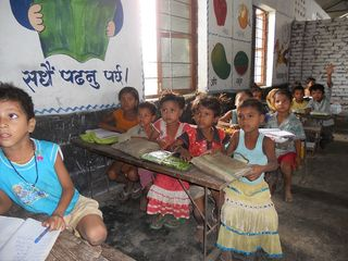 Blog_09.28.12_Children studying in classroom of Ram Dulari School_RSZ