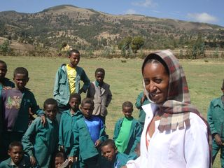 Ethiopia West Showa  Teacher Kumeshie