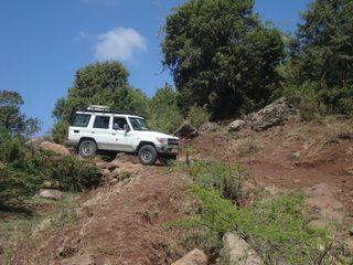 Ethiopia West Showa Zerihun and Staff Traveling to Honche Bite School