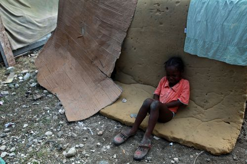 The helpless victims of haiti